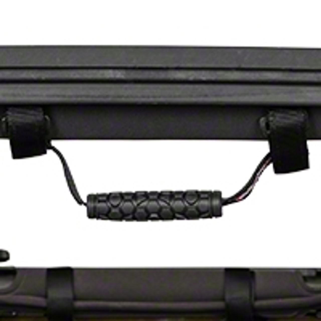 TeraFlex Rear Grab Handle Mounted to Jeep Wrangler Roll Bar