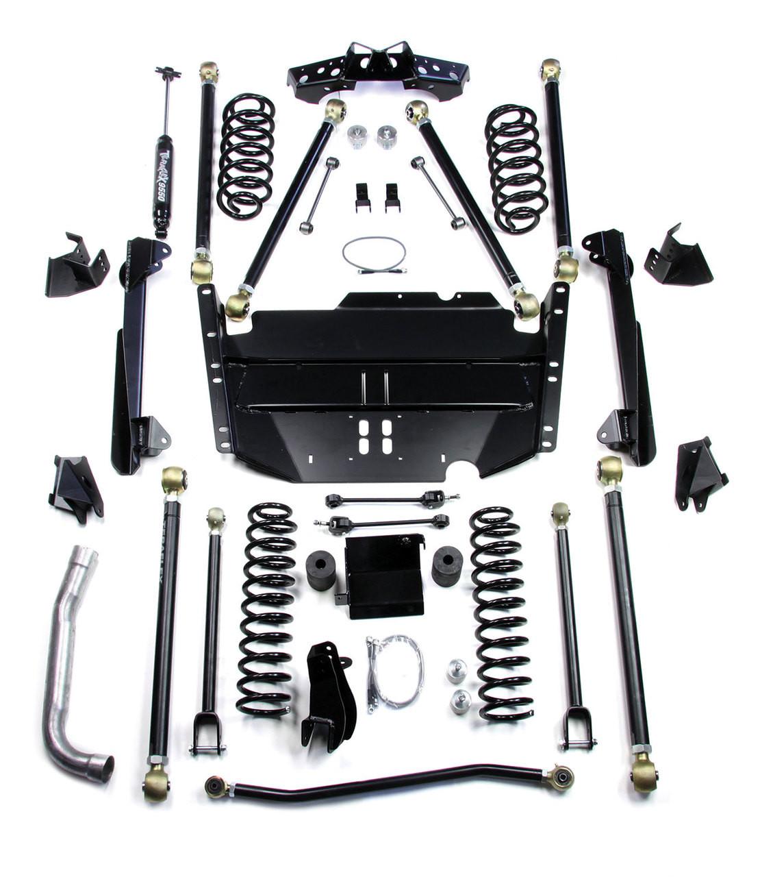 "TeraFlex 1449575 5"" Pro LCG Long FlexArm Lift Kit for Jeep Wrangler TJ 1997-2006"