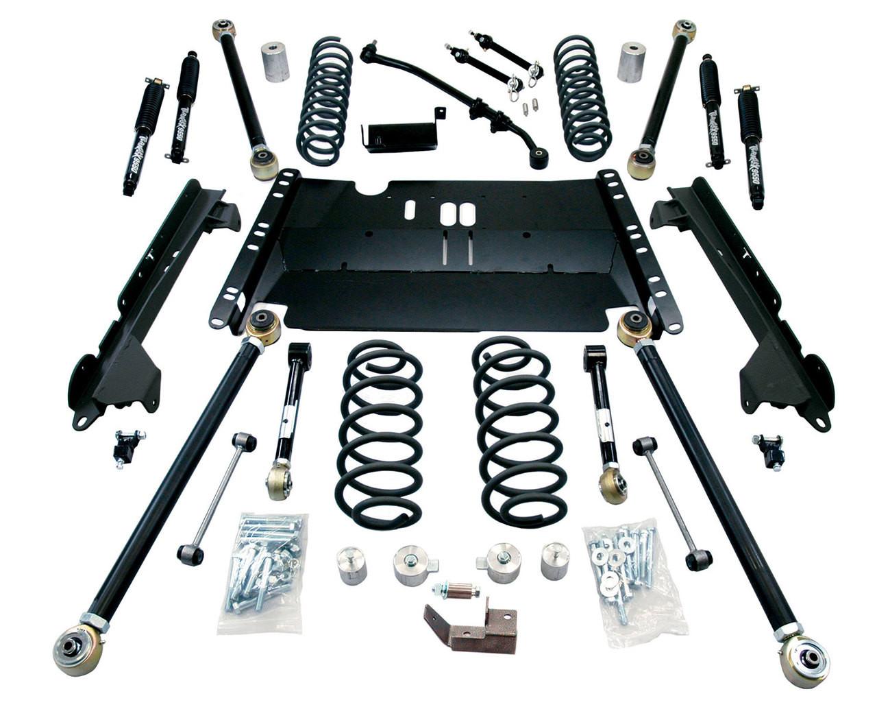 """TeraFlex 1249382 3"""" Enduro LCG Lift Kit with Shocks for Jeep Wrangler LJ 2003-2006"""