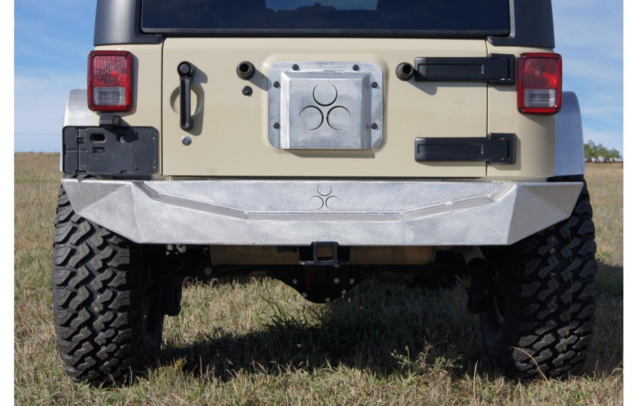 Nemesis Industries 1214 Odyssey Rear Bumper for Jeep Wrangler JK 2007-2016