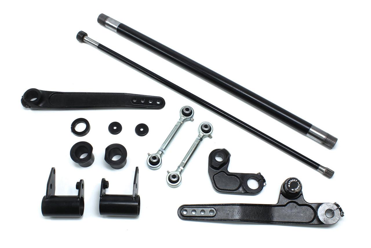 "TeraFlex 1753725 4-6"" Front Dual Rate S/T Swaybar Kit for Jeep Wrangler JK 2007-2016"