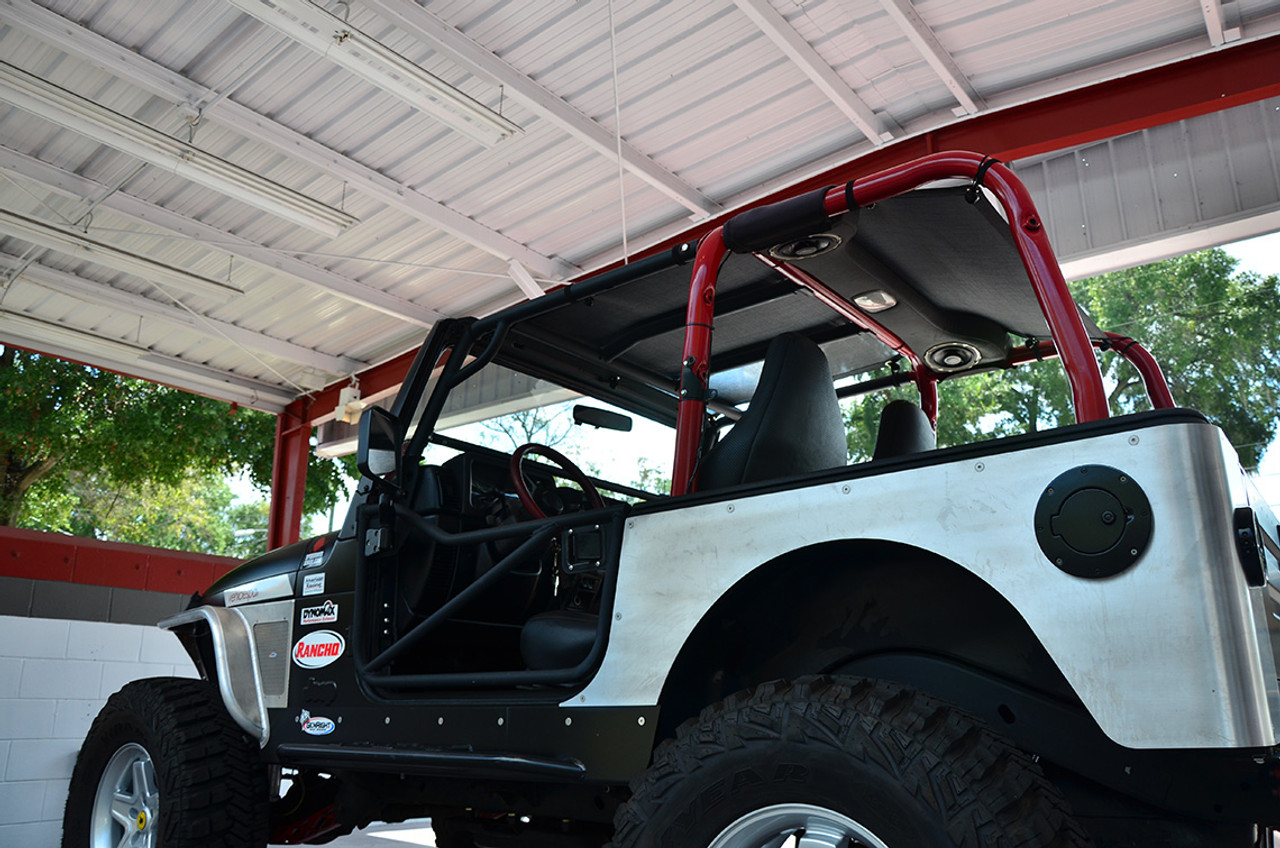 SpiderWebShade Mesh Top for Jeep Wrangler TJ or LJ