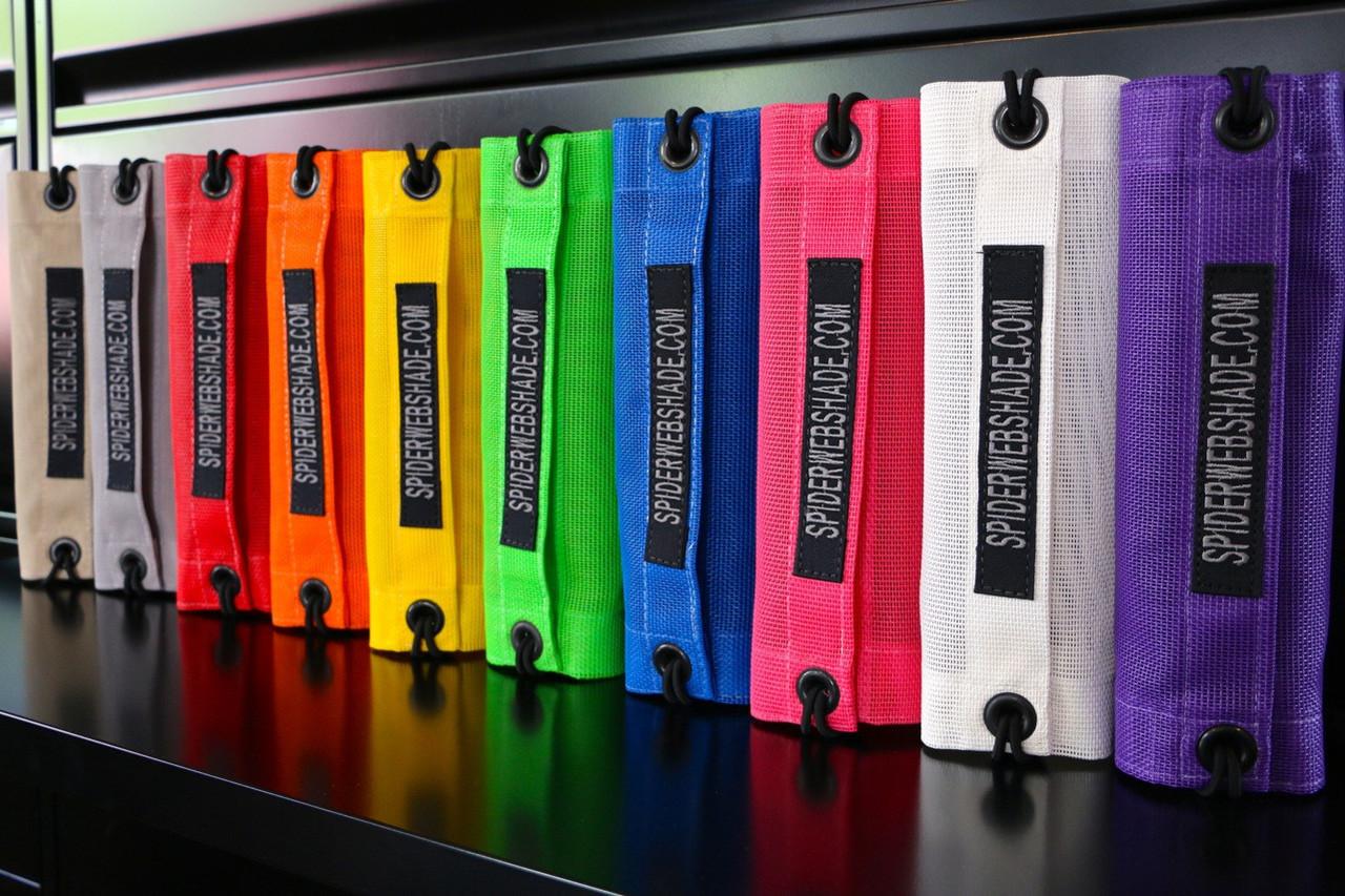 SpiderWebShade TJ Mesh Top Color Options