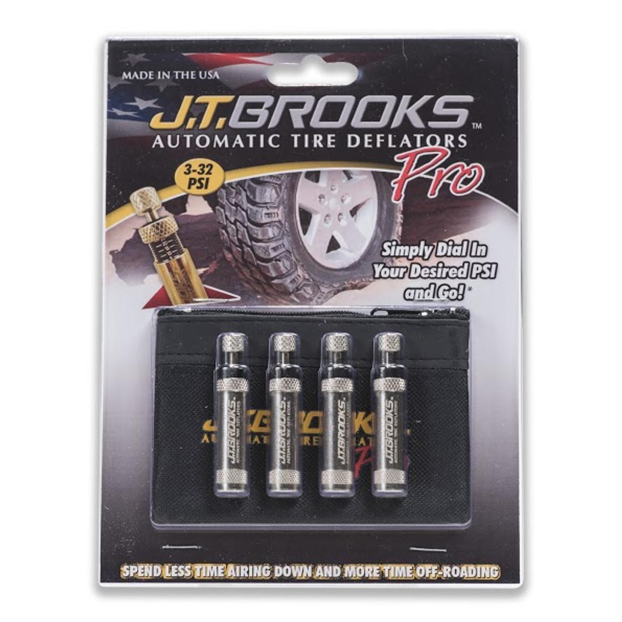 JT Brooks ATDP4 Automatic Tire Deflator Pro Set of 4