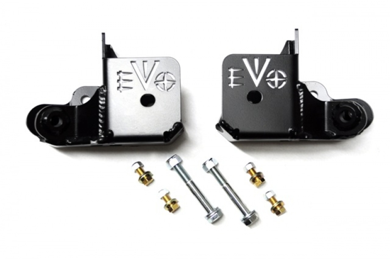 EVO MFG EVO-1038 Rock Star Skids for Jeep Wrangler JK 2007-2016