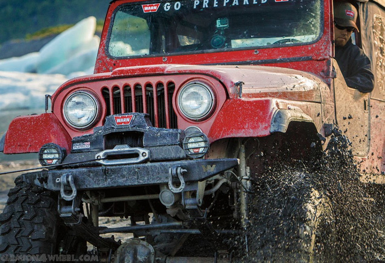 WARN ZEON 10-S Platinum Winch Mounted and In Use