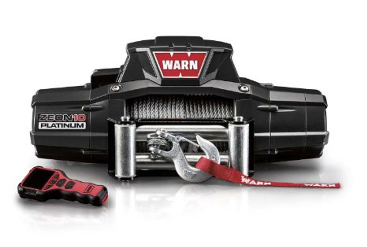 WARN 92815 ZEON 10 Platinum Cable Winch 10,000 lb Pulling Capacity