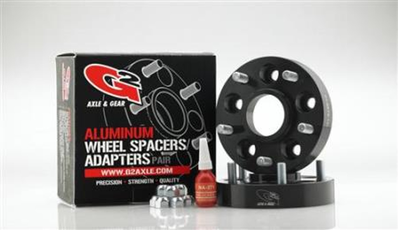 G2 Gear and Axle Complete Wheel Spacer Package