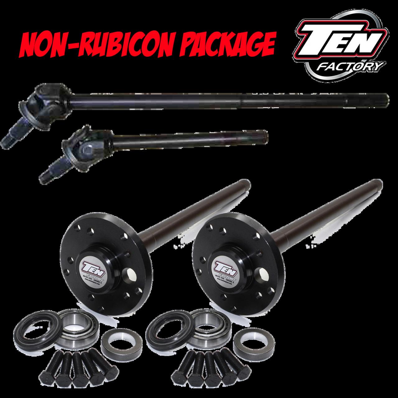 Non Rubicon Axle Package