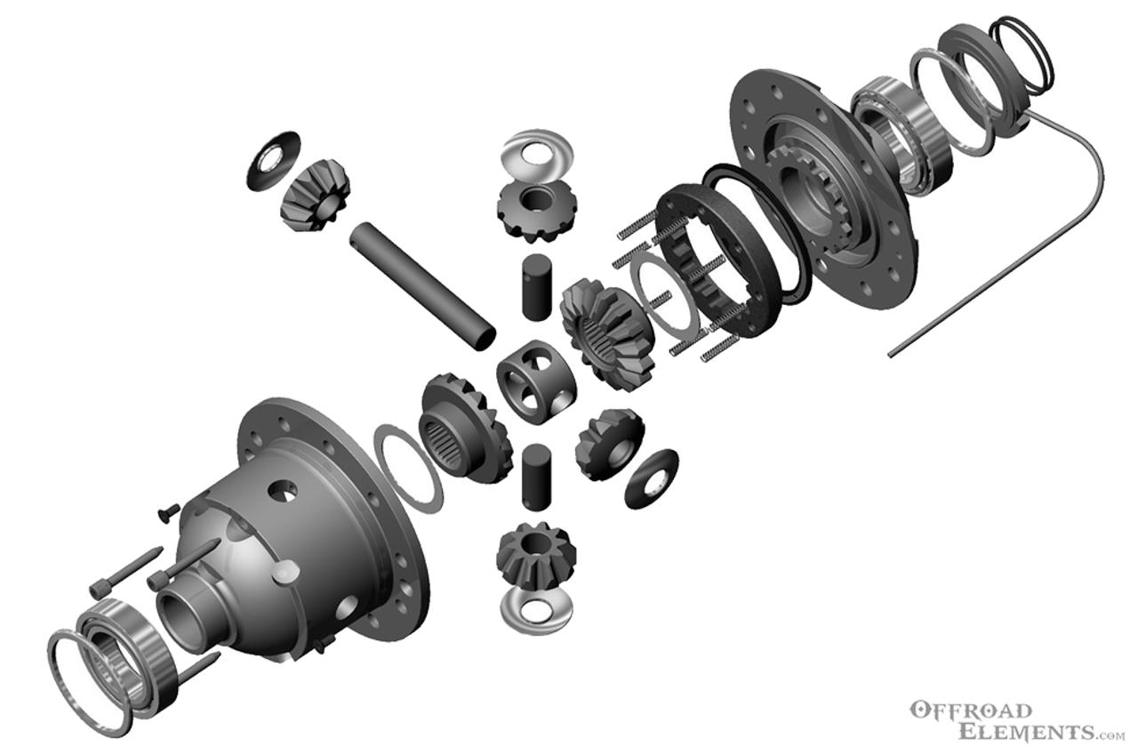 Internal Diagram of Air Locker
