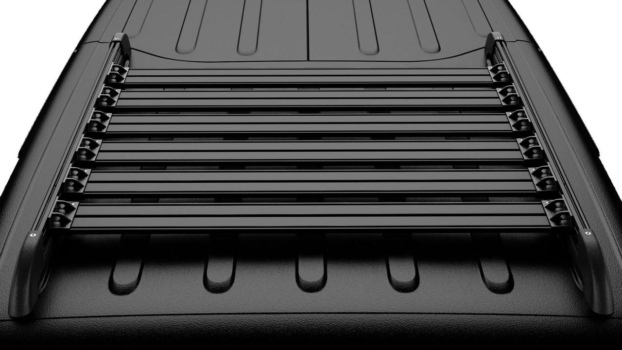 Teraflex 4722060 Nebo Roof Rack Cargo Slat Kit In Black