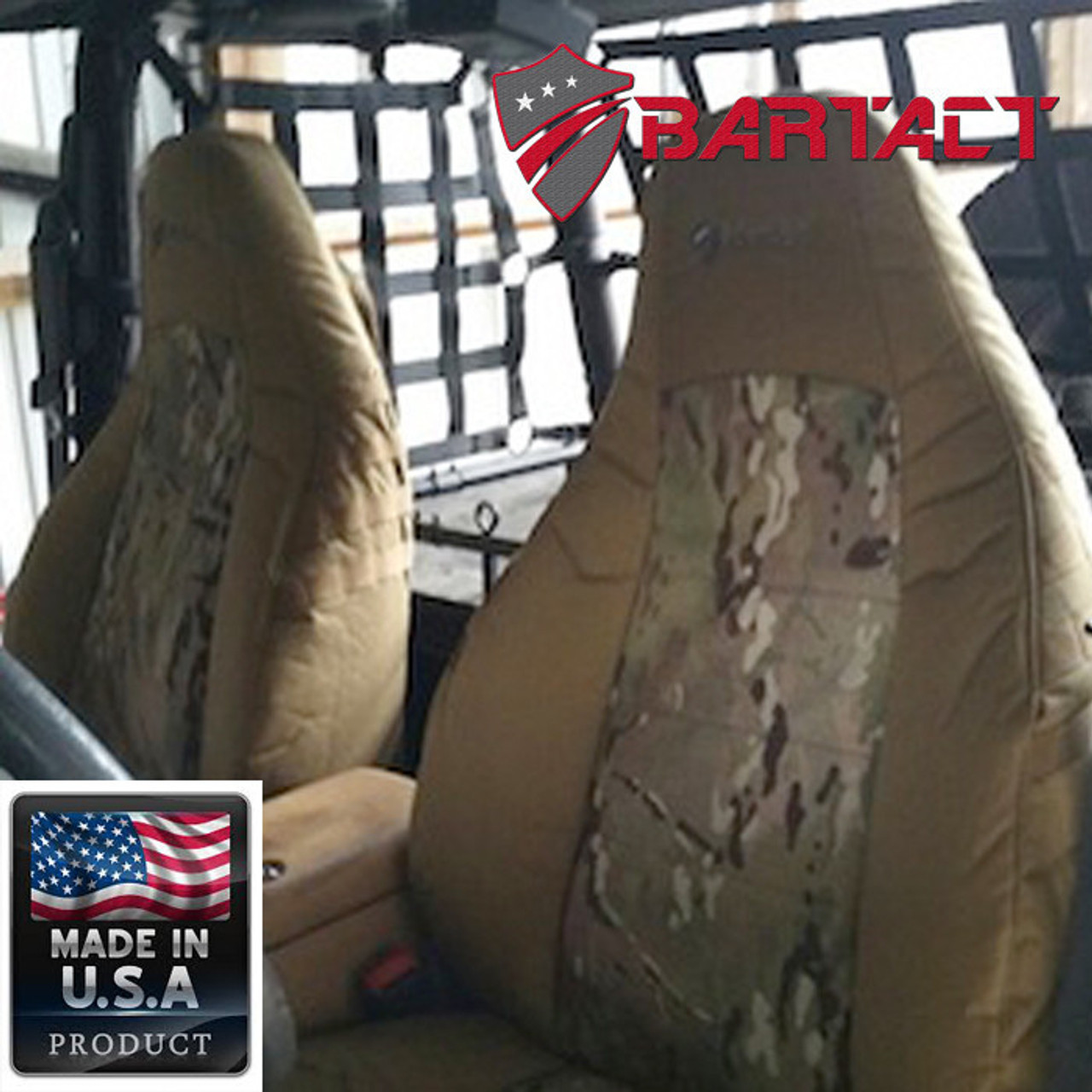 Bartact Mil-Spec Front Seat Cover TJ