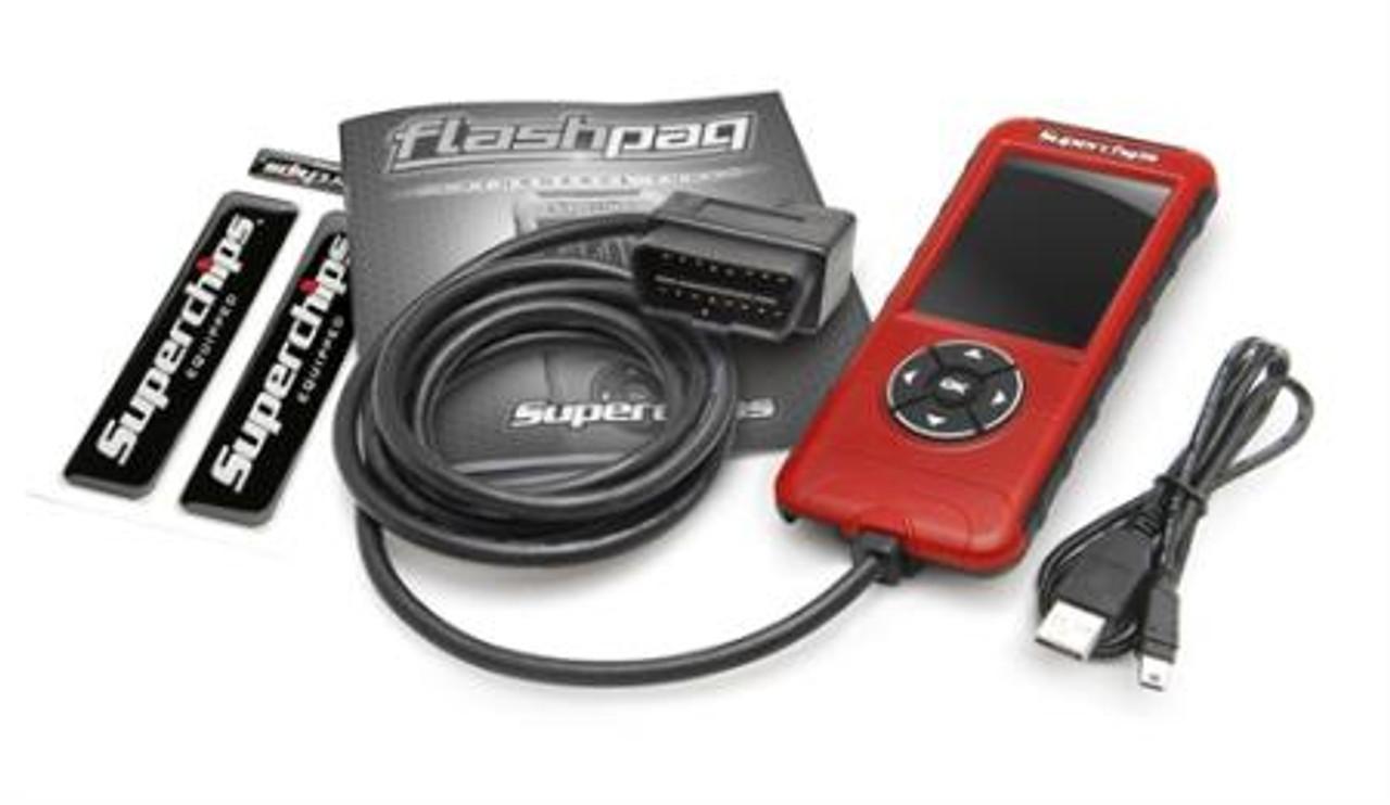 Superchips Flashpaq F5 Programmer for Wrangler TJ, LJ, JK