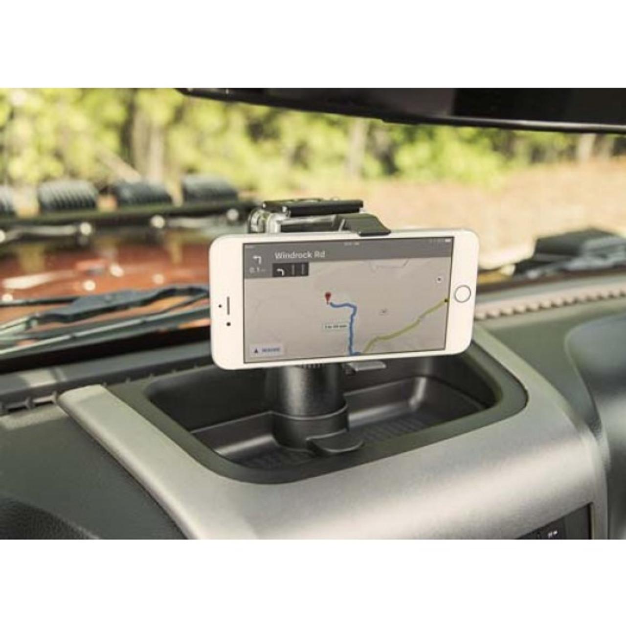 Rugged Ridge Dash Multi-Mount Phone Kit for Wrangler JK 2011+