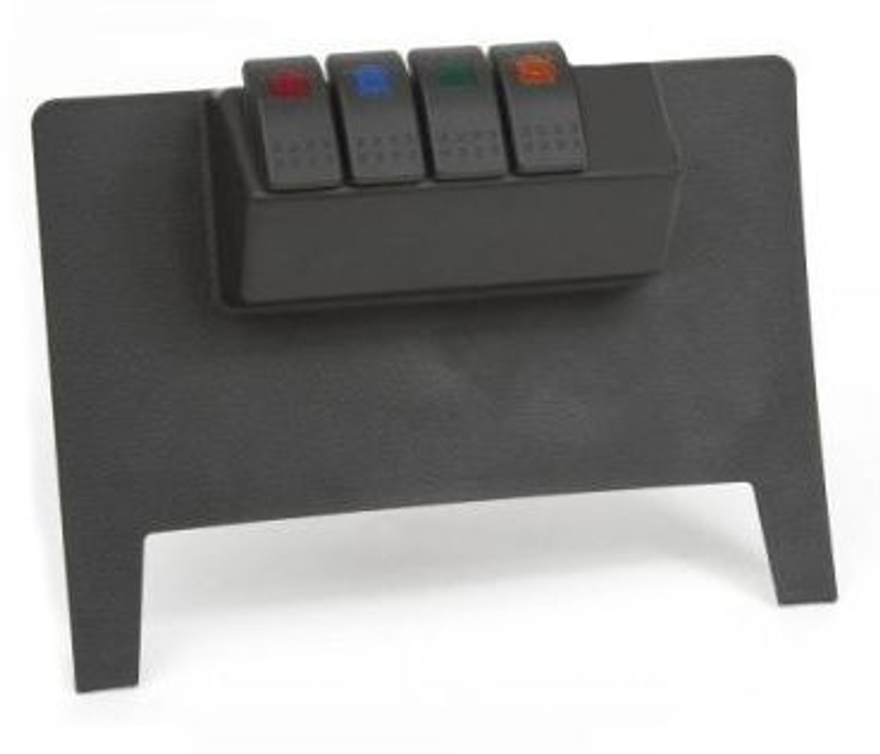 Daystar KJ71038BK Lower Dash Switch Panel with Switches for Jeep Wrangler JK 2011-2016