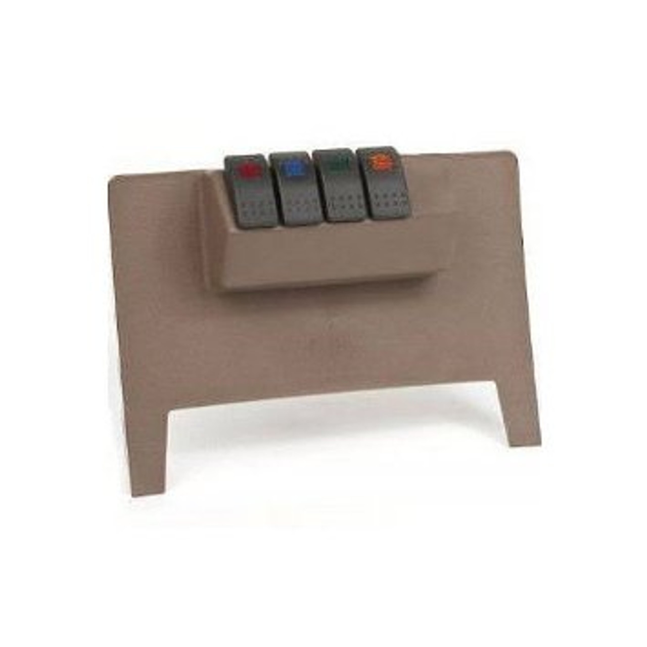 Daystar Lower Dash Switch Panel with Switches for Jeep JK 2011+ in Tan