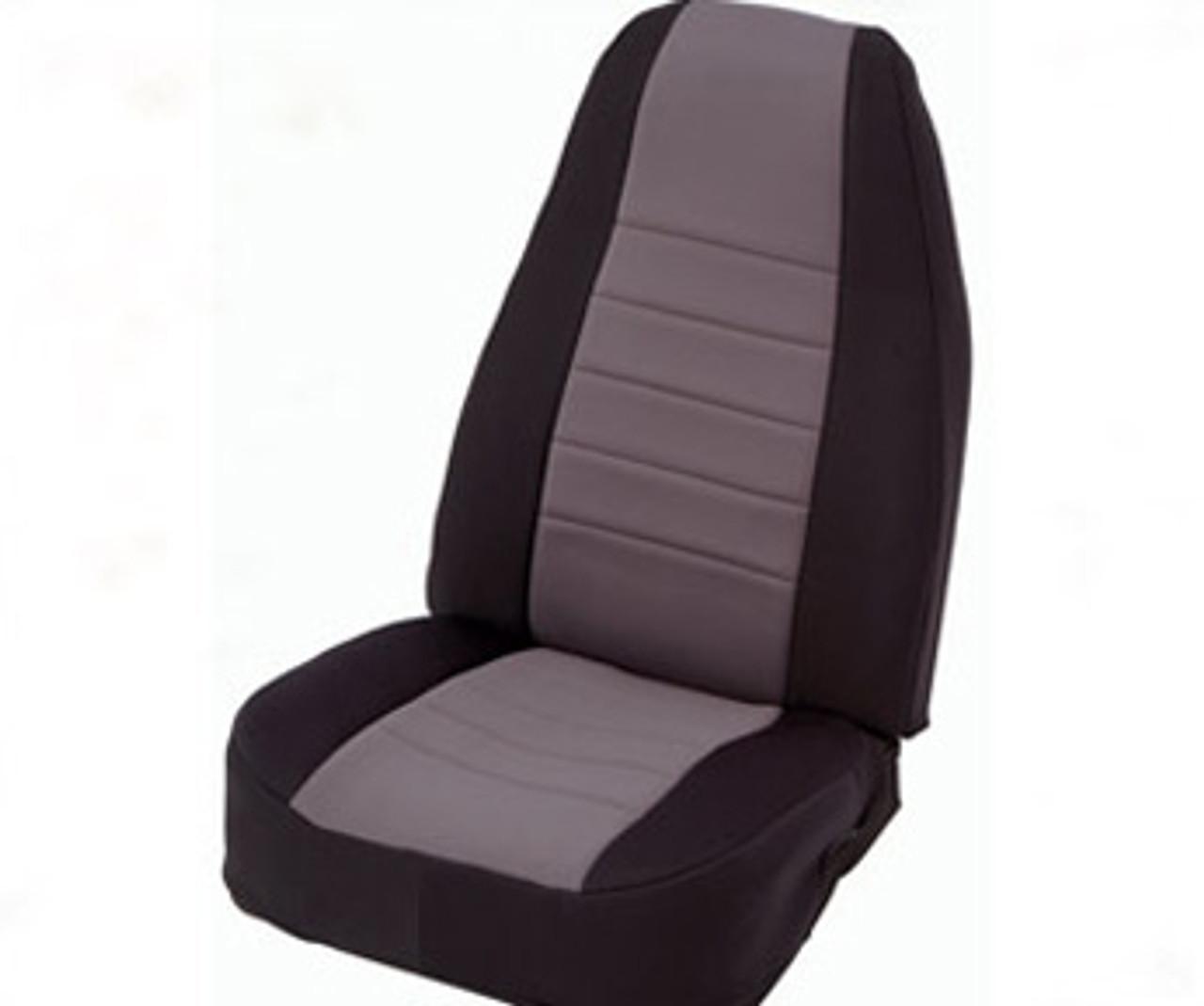 Smittybilt Neoprene Seat Cover in Black/Gray
