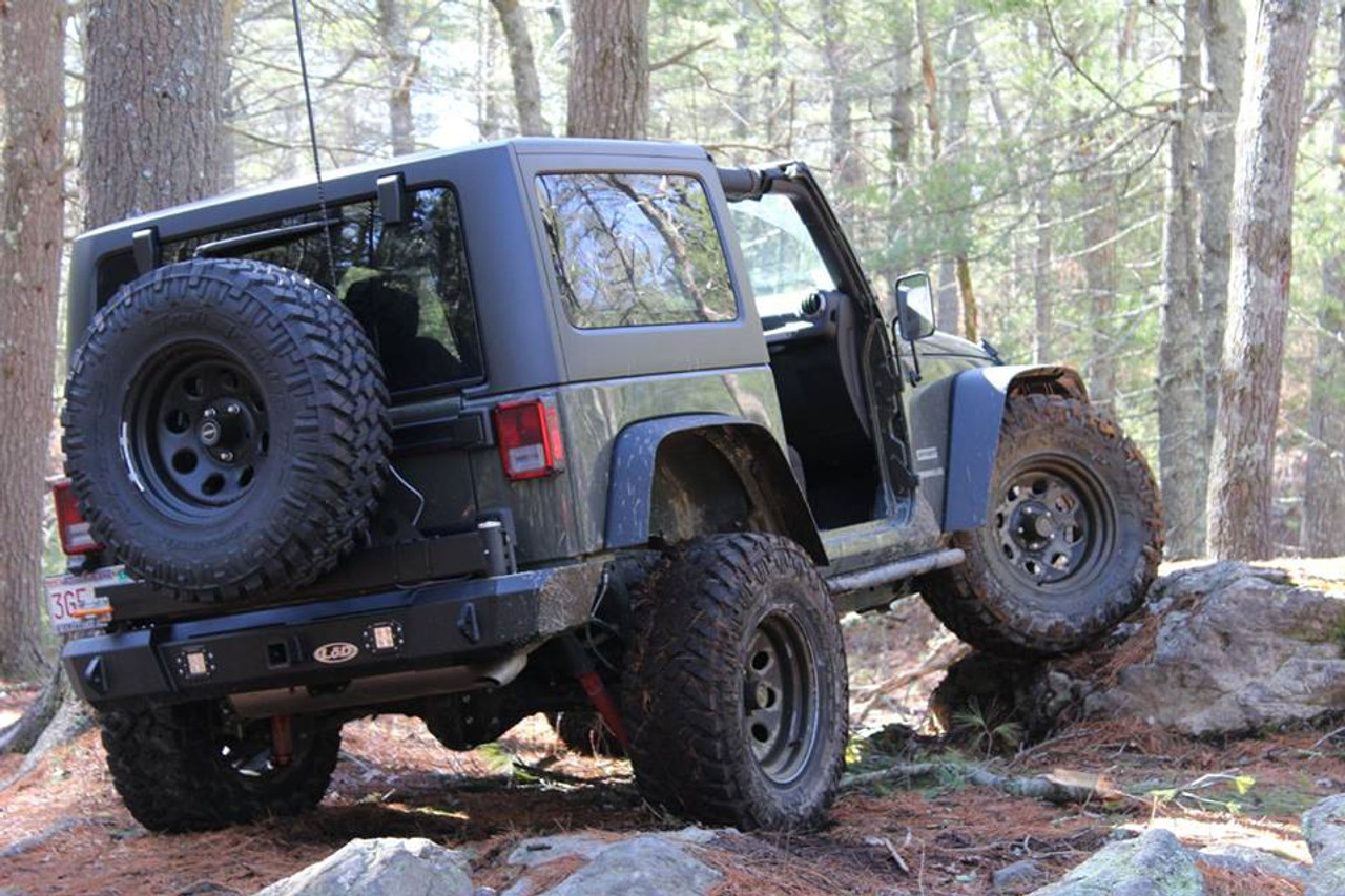 Offroad Elements Nitto Trail Grapplers Mounted on Jeep Wrangler JK