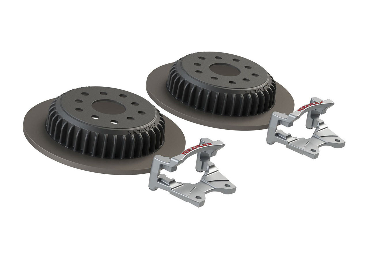 TeraFlex 4304450 Rear Performance Big Rotor Kit for Jeep Wrangler JK 2007-2016