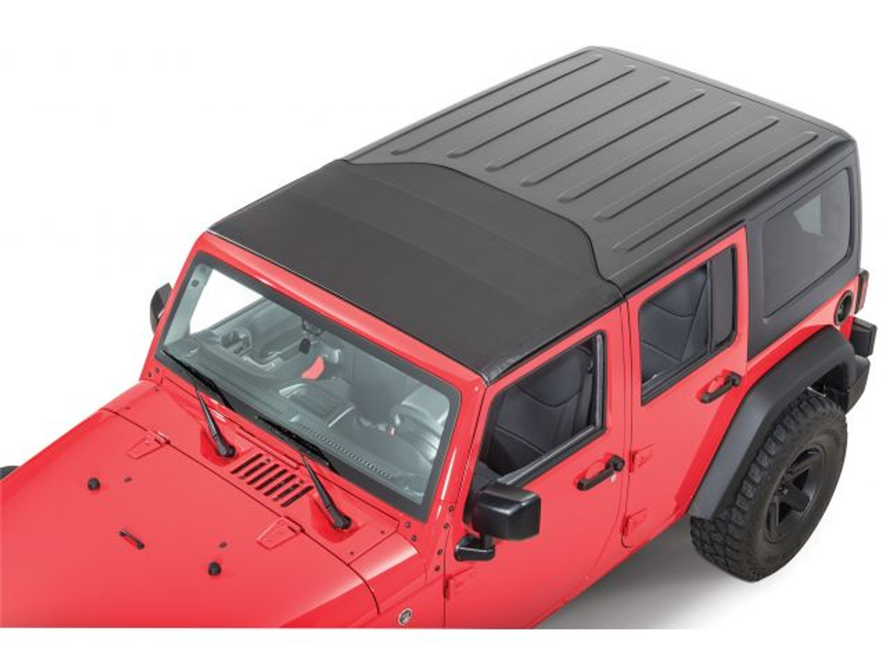 Bestop Sunrider for Factory Hardtop for Jeep JK in Closed Position