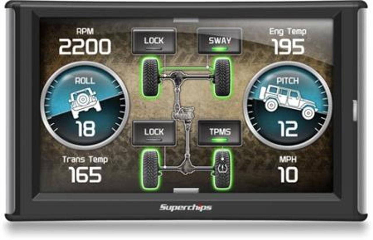 Superchips TrailDash 2 Touch Screen