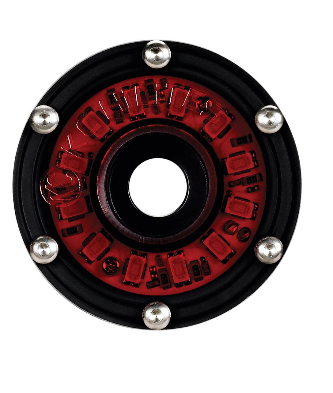 """KC Hilites 1353 Red 2"""" Cyclone Round LED Light"""