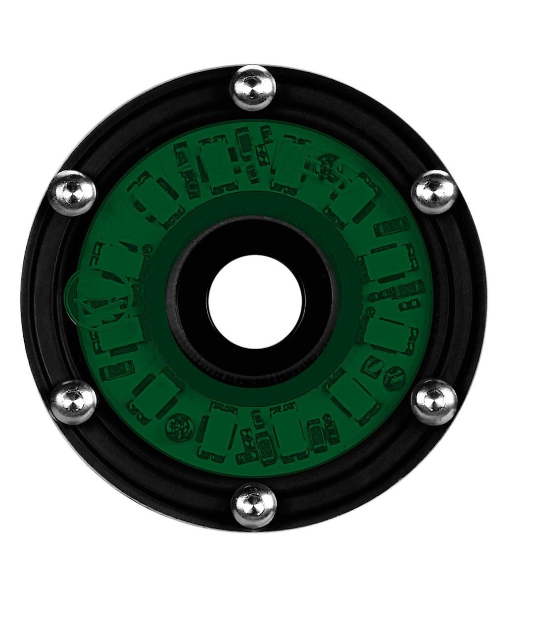"KC Hilites 1355 Green 2"" Cyclone Round LED Light"