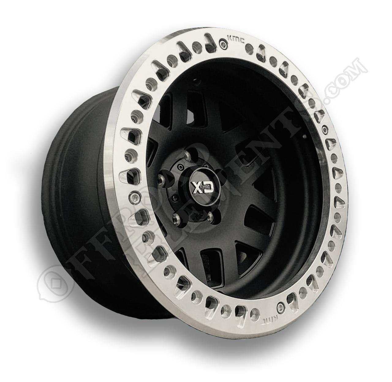 KMC Machete Beadlock Wheels for Jeep JK!