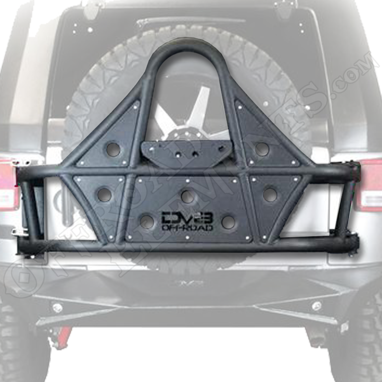 DV8 TCSTTB-01 Body Mounted JK Tire Carrier
