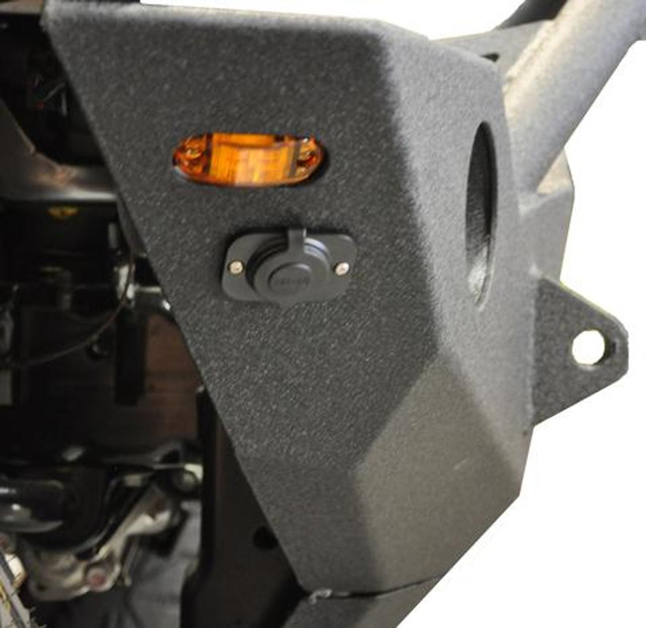 DV8 Offroad FBSHTB-18 FS-18 Hammer Forged Front Bumper for Jeep Wrangler JK & JL 2007+