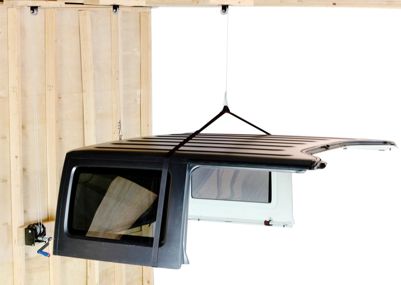 Lange Originals 014-SIM Hoist-A-Top Simple for Jeep Wrangler CJ, YJ, TJ, JK 1976-2018