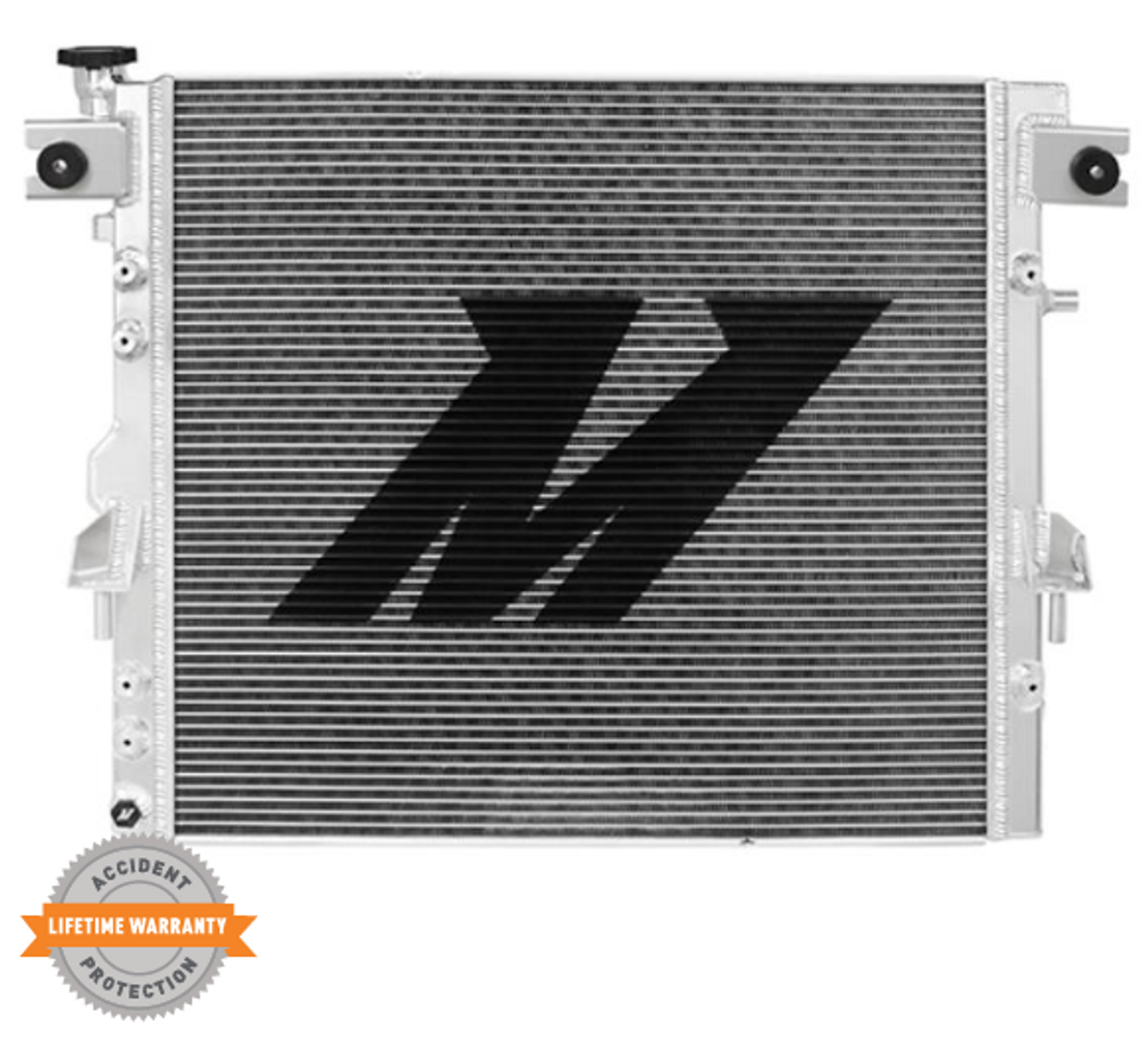 Mishimoto MMRAD-WRA-07V2 Performance Aluminum Radiator for Jeep Wrangler JK 2007-2018