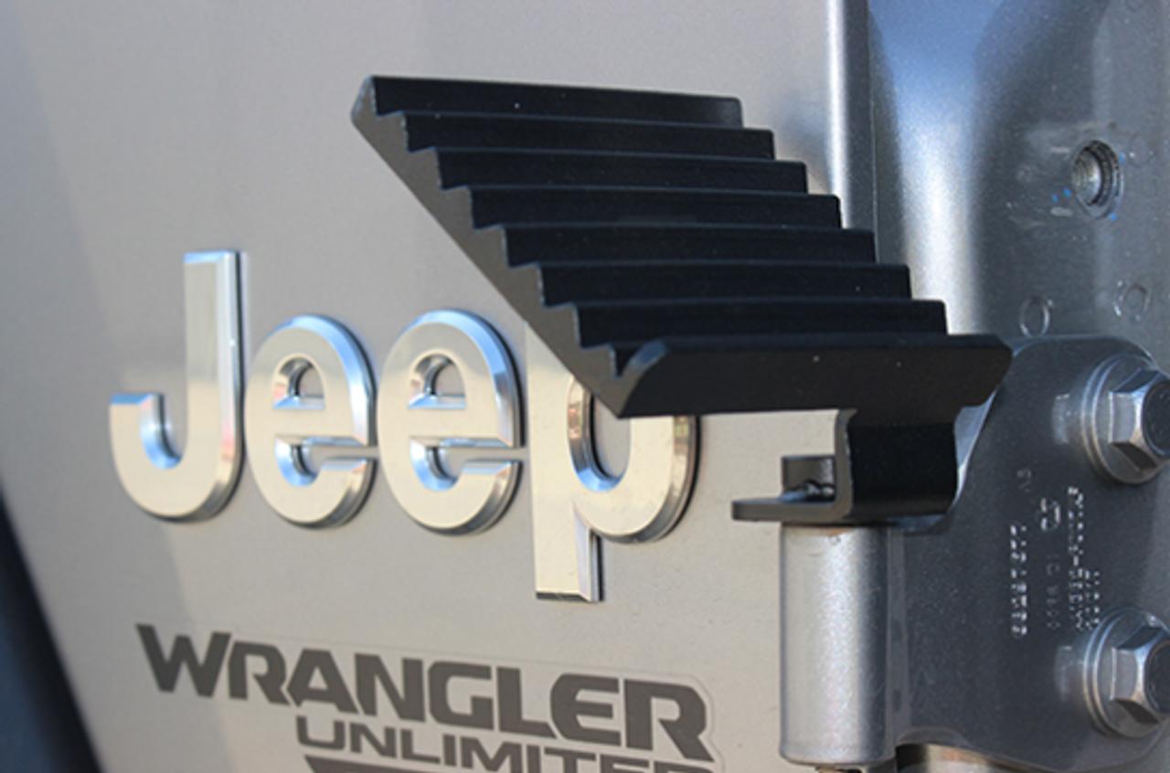 Fishbone Offroad FB21082 Foot Peg Set for Jeep Wrangler JL 2018+