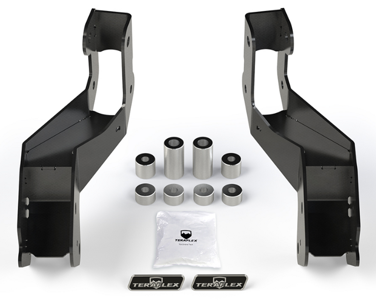 TeraFlex 1938125 Front Control Arm Sport Bracket Kit (Wrangler JL 2018+)
