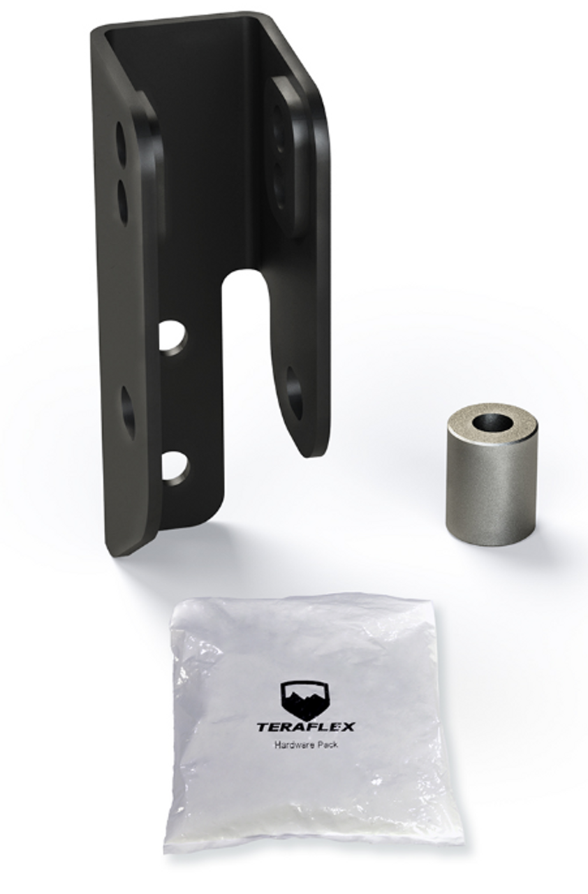 TeraFlex Rear Track Bar Axle Bracket Kit- 2 5-4 5