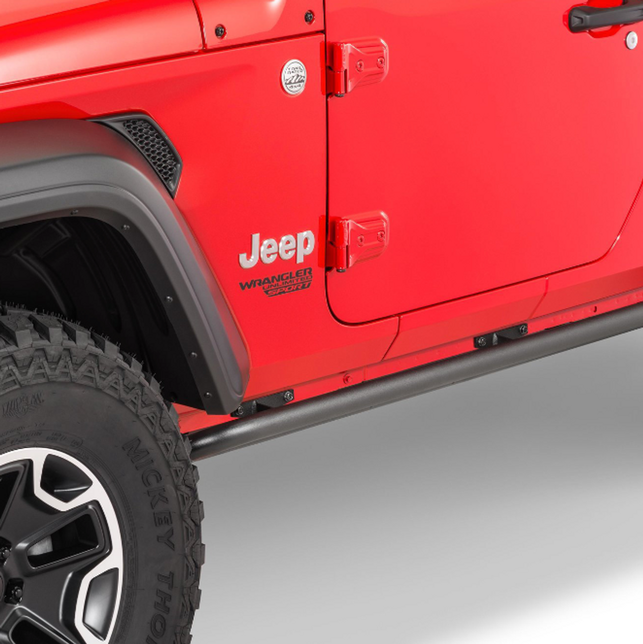 N-Fab JK182RKR Rock Rails for Jeep Wrangler JL 2 Door 2018+