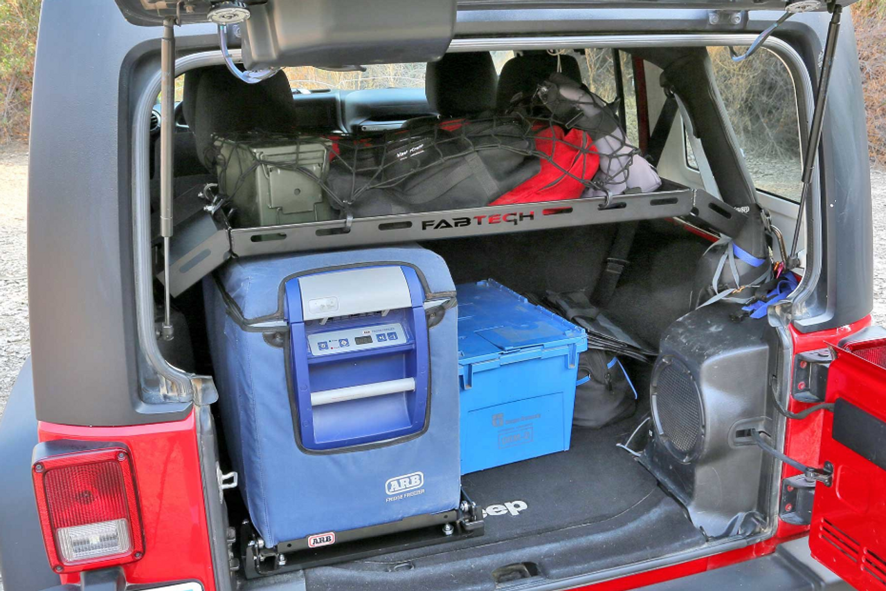 Fabtech FTS24211 Jeep Jl Cargo Rack