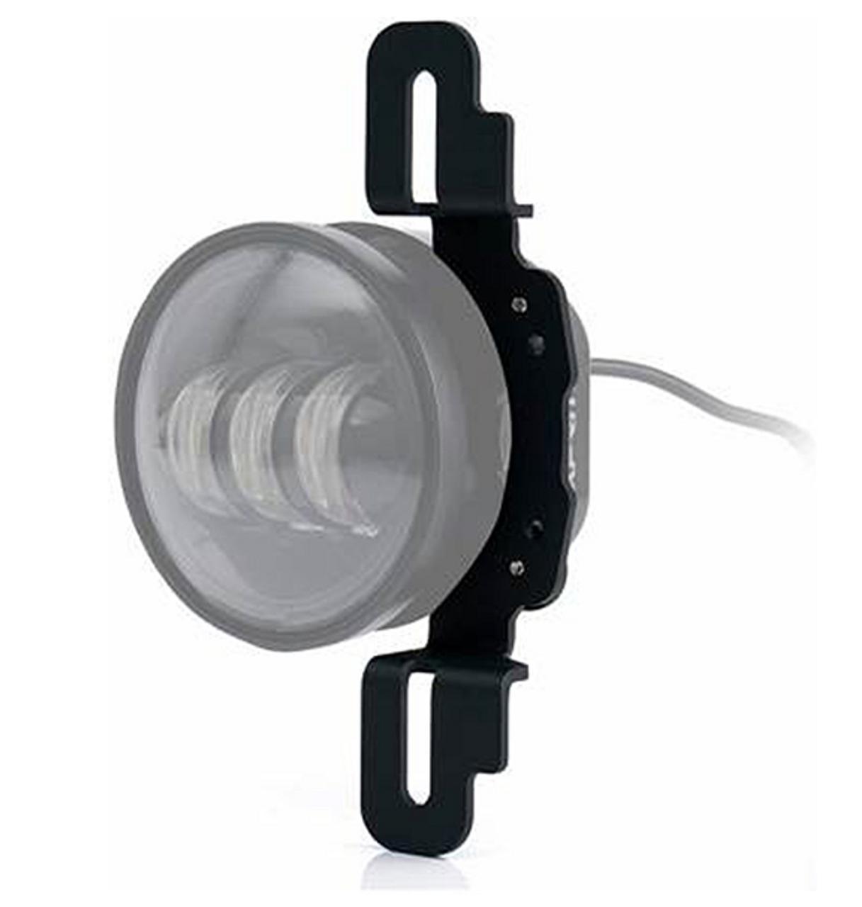 Oracle Lighting 5857-504 Fog Light Adapter Brackets for Jeep Wrangler JK, JL & Gladiator JT with Factory Steel Bumpers 2013+