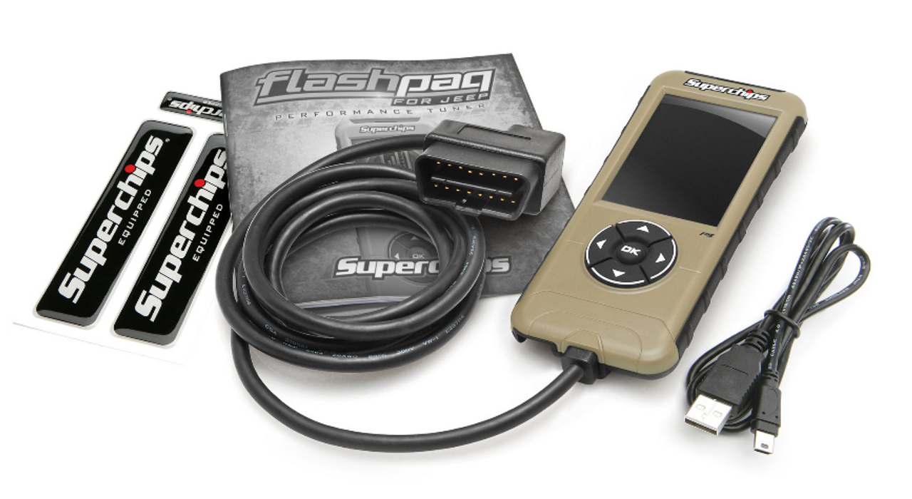 Superchips 3876-JT FlashPaq F5 Programmer for Jeep Gladiator JT 2020+