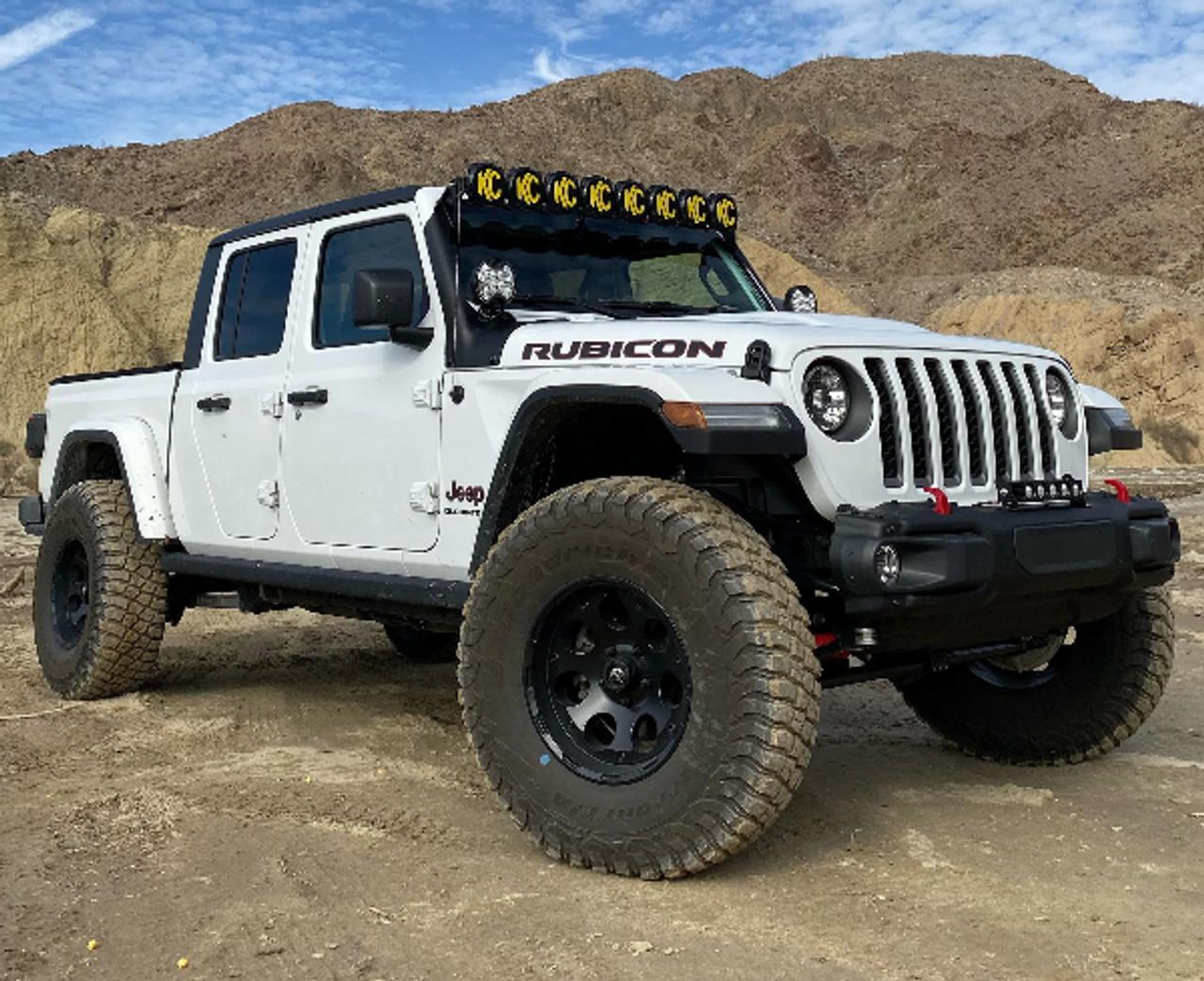 KC Hilites 91336 Gravity Pro 6 LED Light Kit for Jeep Wrangler JL & Gladiator JT 2018+