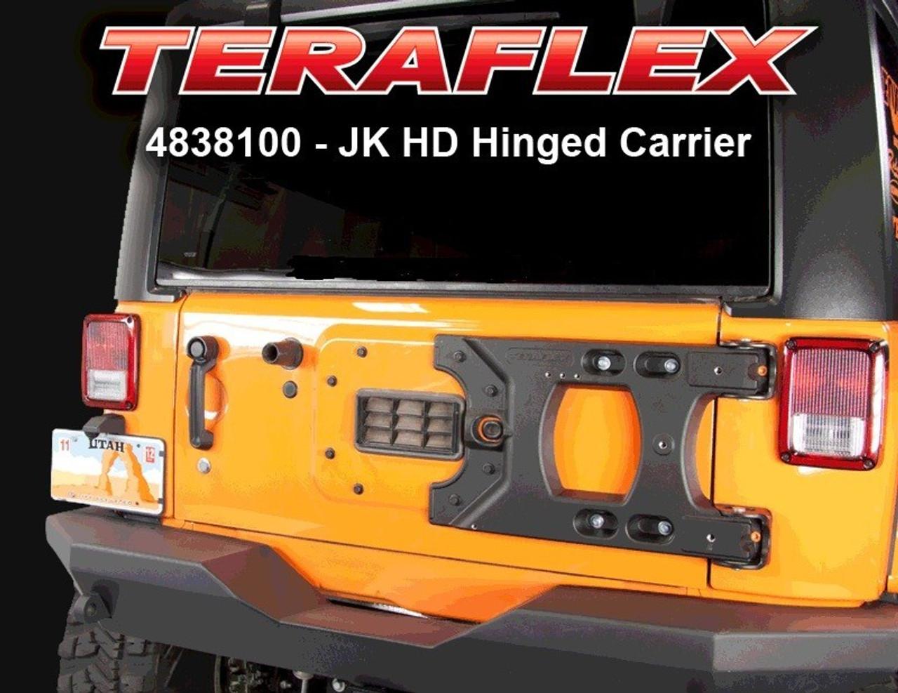 TeraFlex 4838100 HD Hinged Tire Carrier for JK