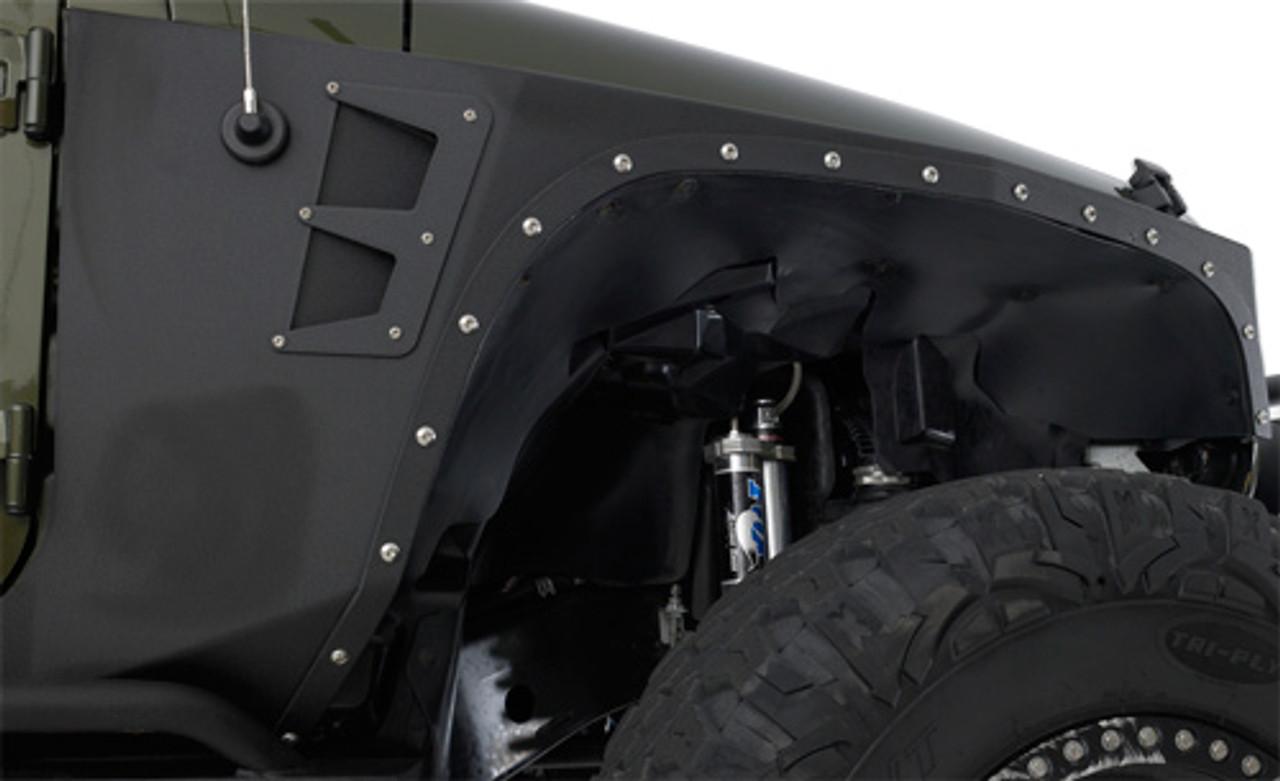 Smittybilt XRC Front Fender Armor Kit for Jeep JK