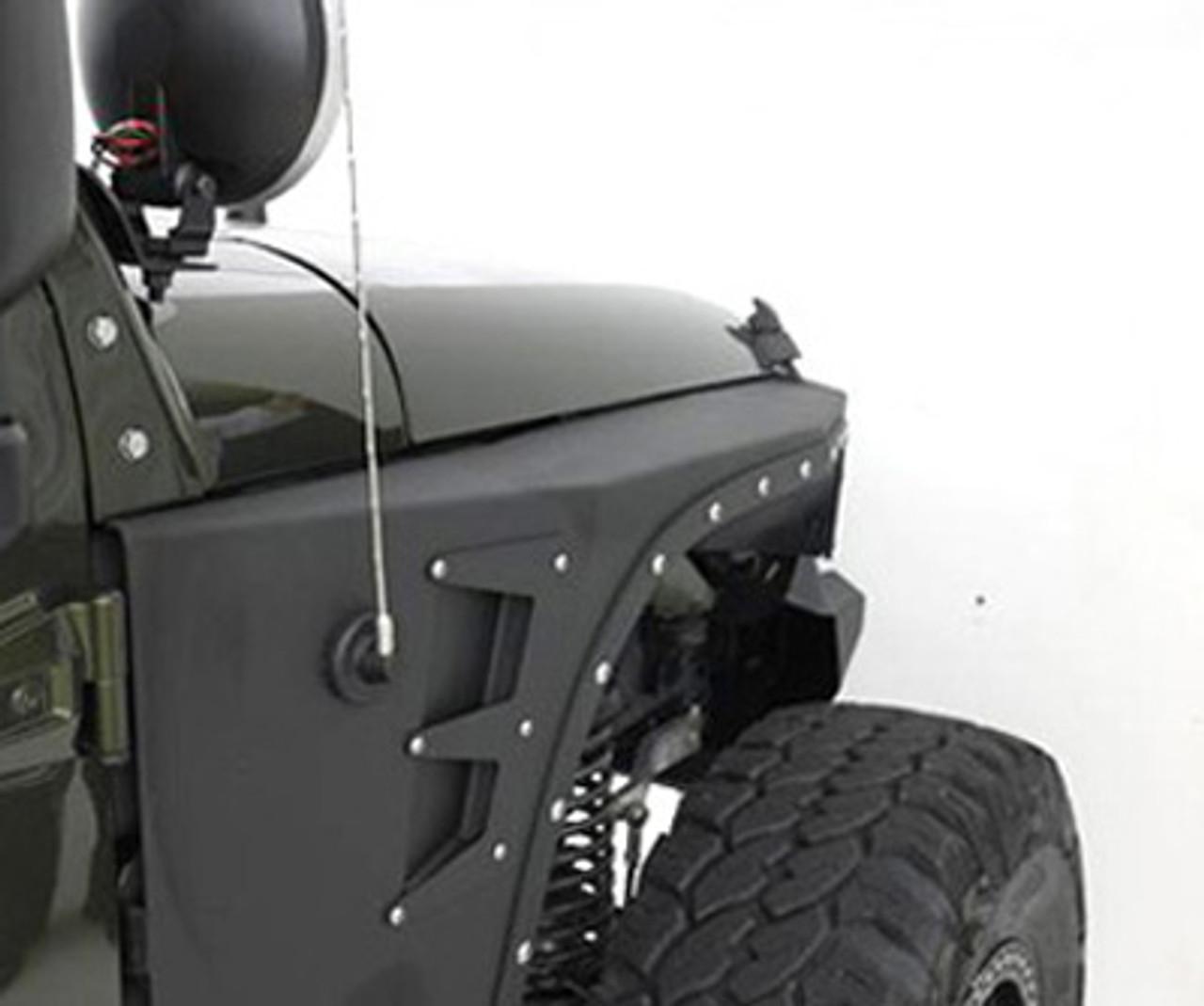 Smittybilt XRC Front Fender Armor Kit for Wrangler JK