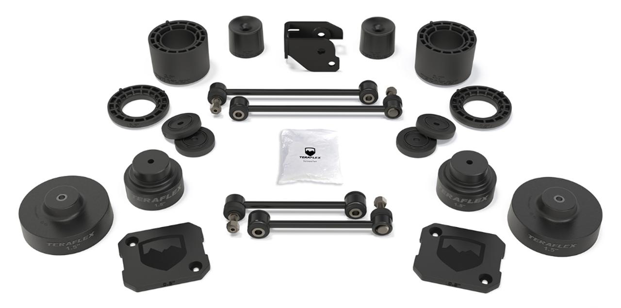 "TeraFlex 1375300 3.5"" Performance Spacer Lift Kit- No Shocks for Jeep Gladiator JT 2020+"
