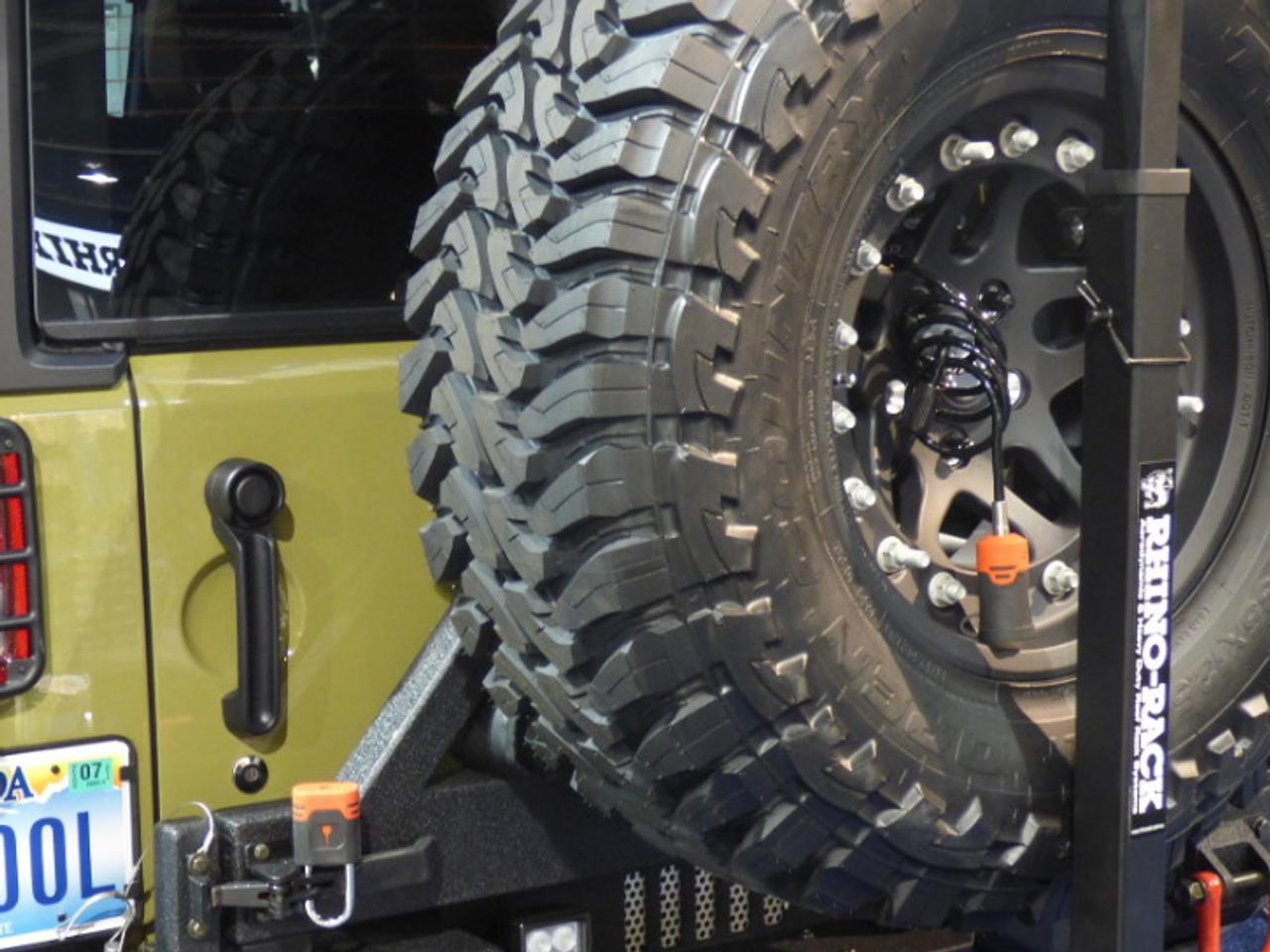 BOLT 7032295 6' Cable Lock for Jeep Wrangler JL & Gladiator JT 2018+