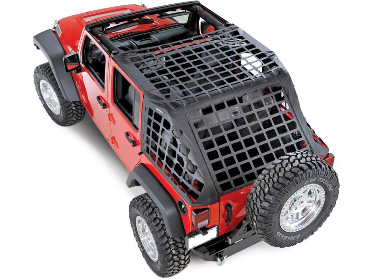 Smittybilt 581035 C-RES Cargo System for Jeep Wrangler JK 4 Door Unlimited 2007-2016
