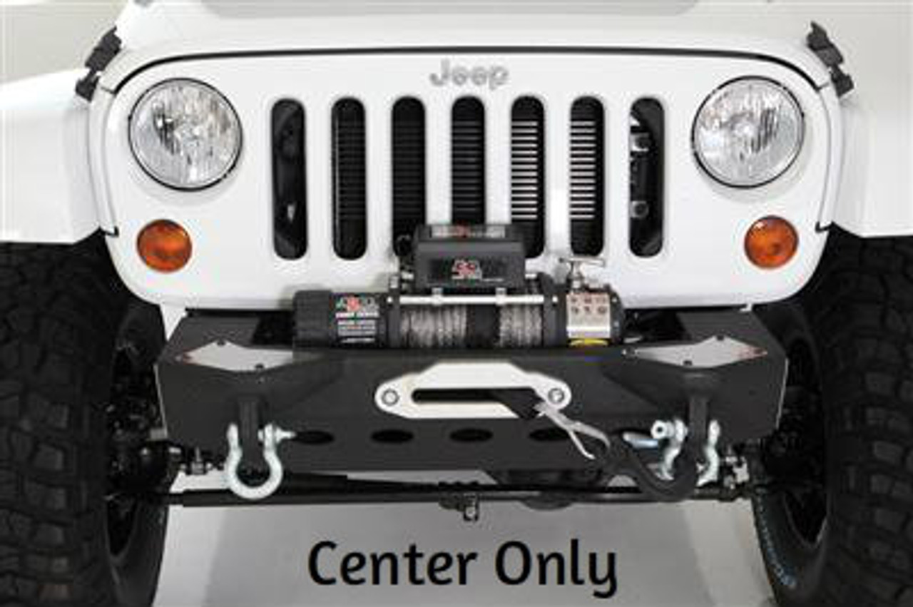 Smittybilt XRC M.O.D. Modular Center Section with Winch Plate for Jeep JK