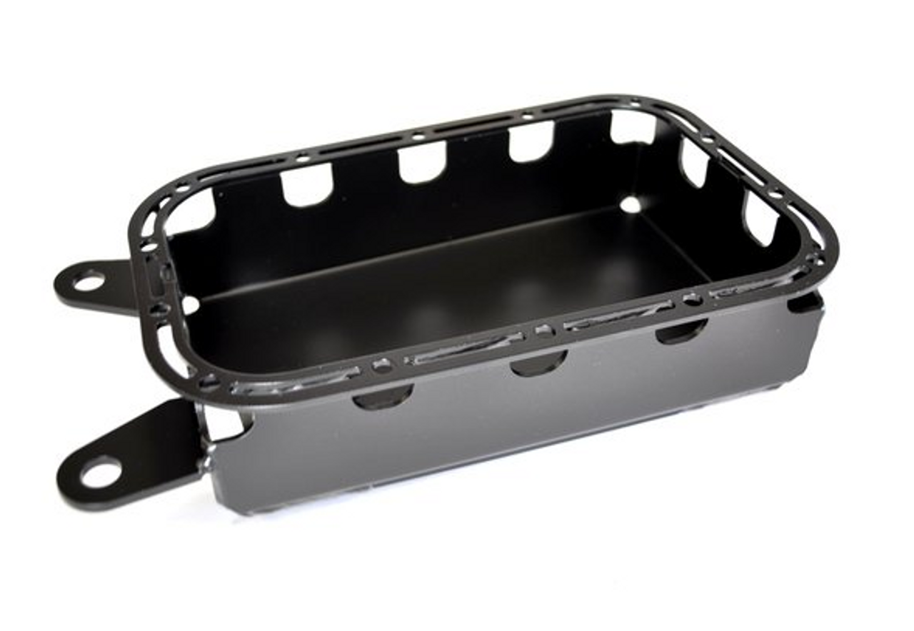 EVO Manufacturing EVO-1091B Protek Oil Pan Skid Plate for Jeep Wrangler JK 2012-2018 3.6L