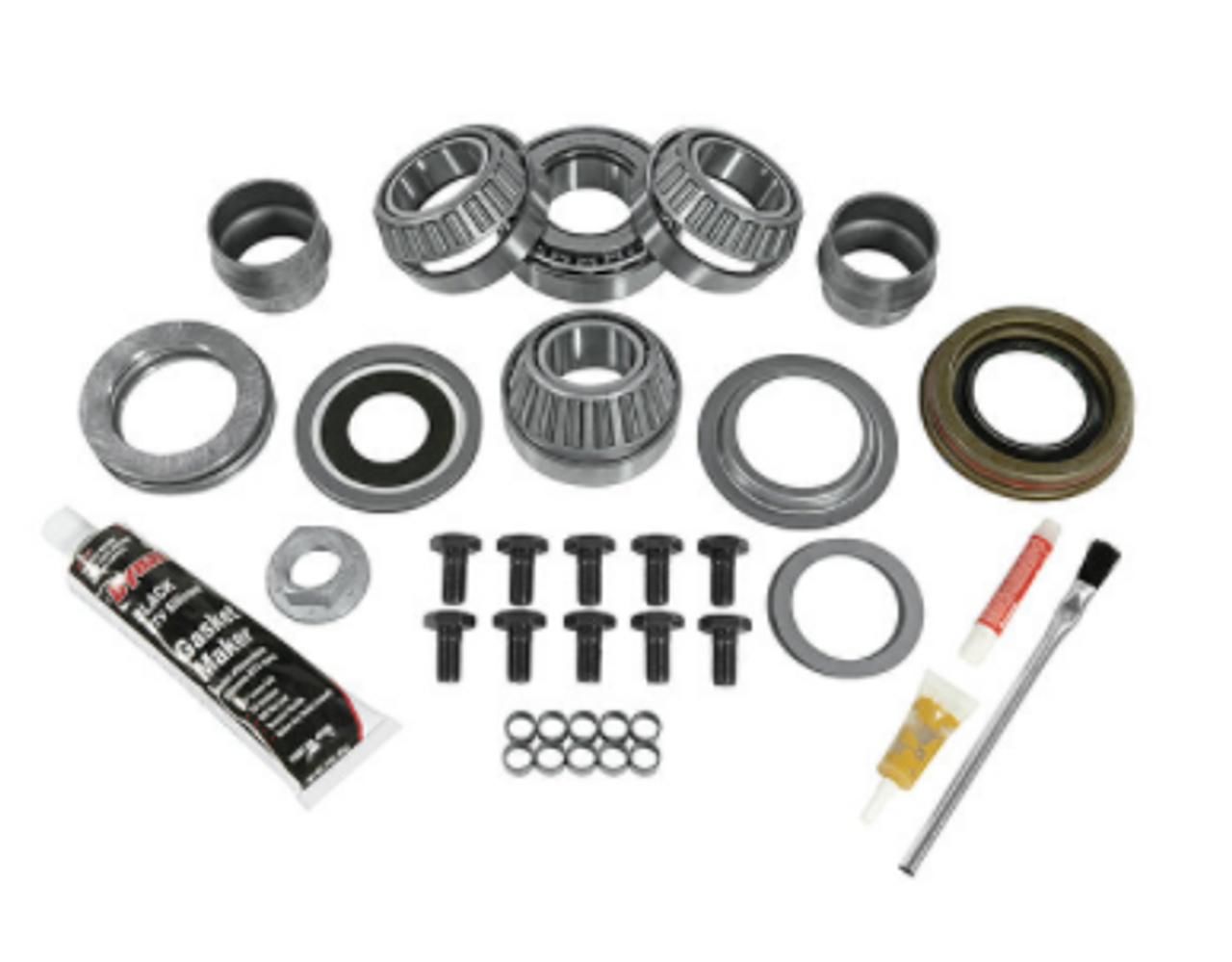 Yukon Gear & Axle YK D30JL-FRONT Master Rebuild Kit for Dana 30/186MM Front Axle for Jeep Wrangler JL 2018+