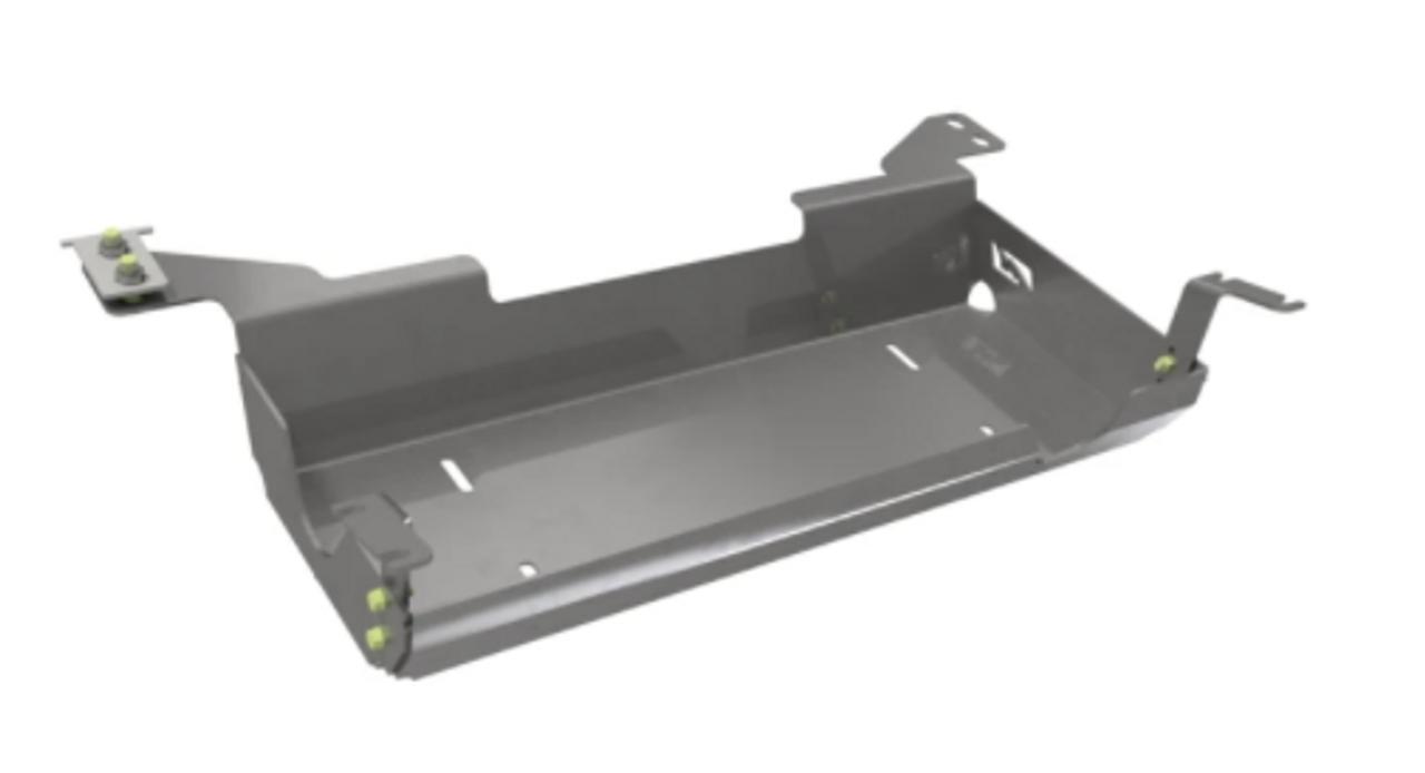 Motobilt MB1104 Muffler Skid Plate for Jeep Wrangler JL 4 Door 2018+